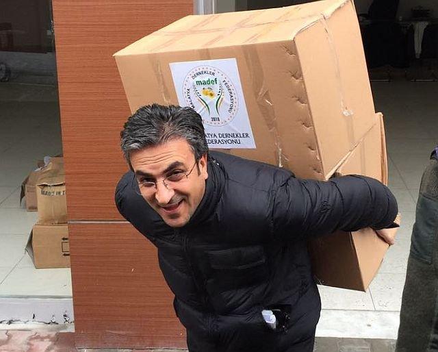 MADEF Halep dramına karşı yükü sırtladı