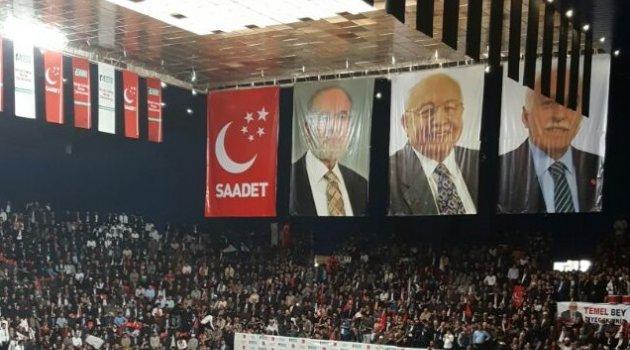 Saadet partisi yeni genel başkanı Temel Karamollaoğlu oldu