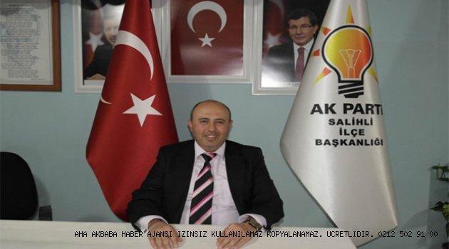 Salihli 'de AK Partili başkan istifa etti