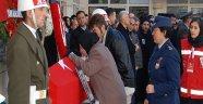 Kayseri şehidi Fehmi  Barçın'ın son yolculuğunda gözyaşları sel oldu