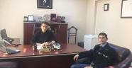 Ali Altan'dan, Emniyet Müdürü Altaş'a Hayırlı Olsun Ziyareti