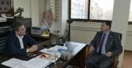 Başkan Hüseyin Akdeniz Isparta Belediyesini ziyaret etti